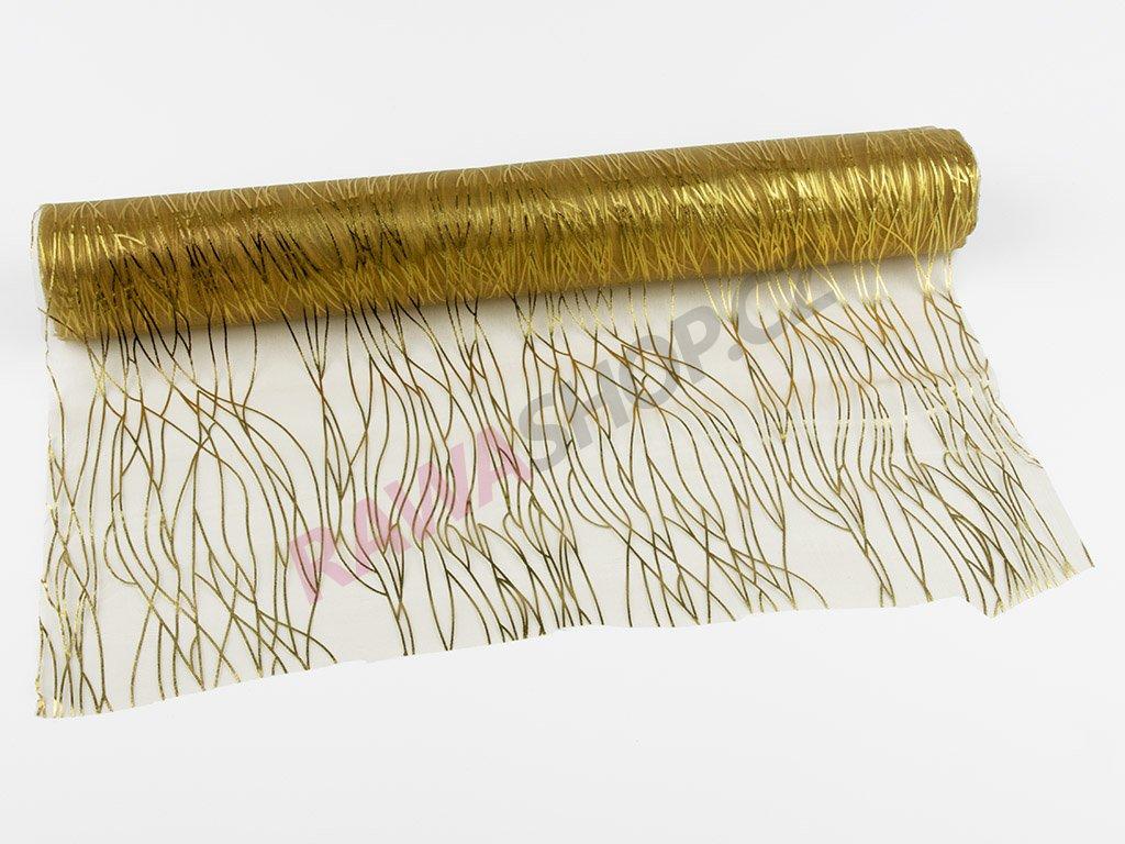Organza 39cm - gold-gold 2