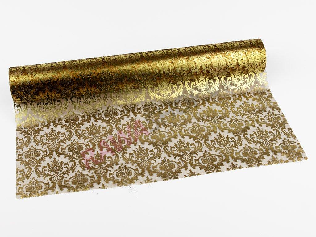 Organza 39cm - goldbrown-gold