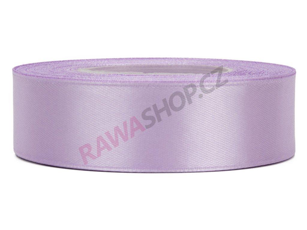Saténová stuha 2,5cm - lavender