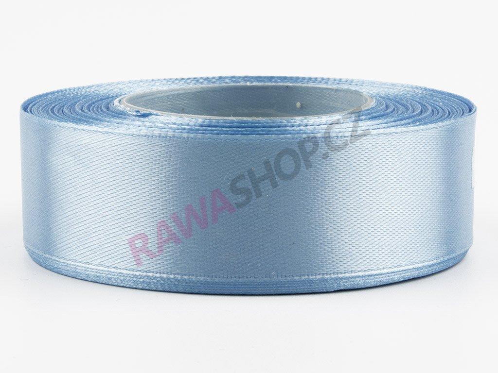 Saténová stuha 2,5cm - blue
