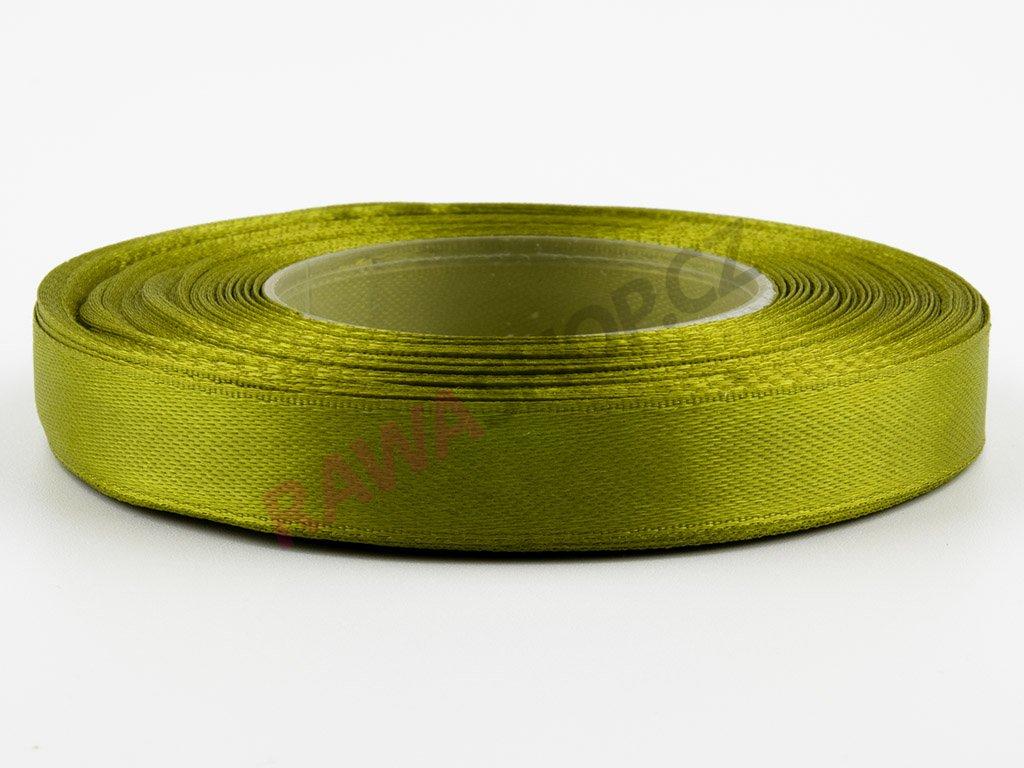 Saténová stuha 1,2cm - tea green