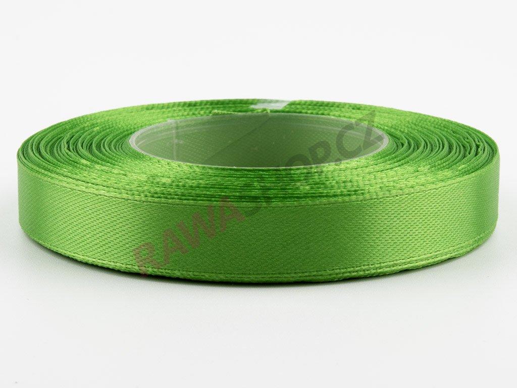 Saténová stuha 1,2cm - summer green
