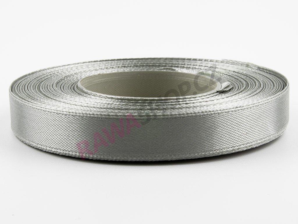 Saténová stuha 1,2cm - ice silver