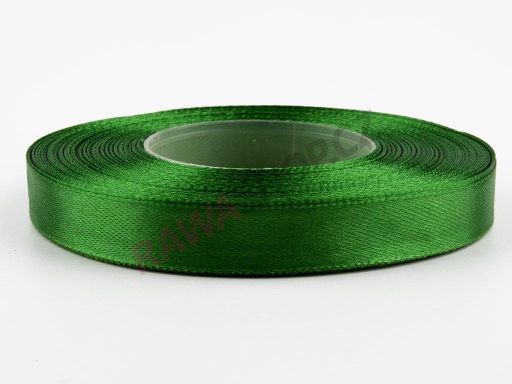 Saténová stuha 1,2cm - dark green