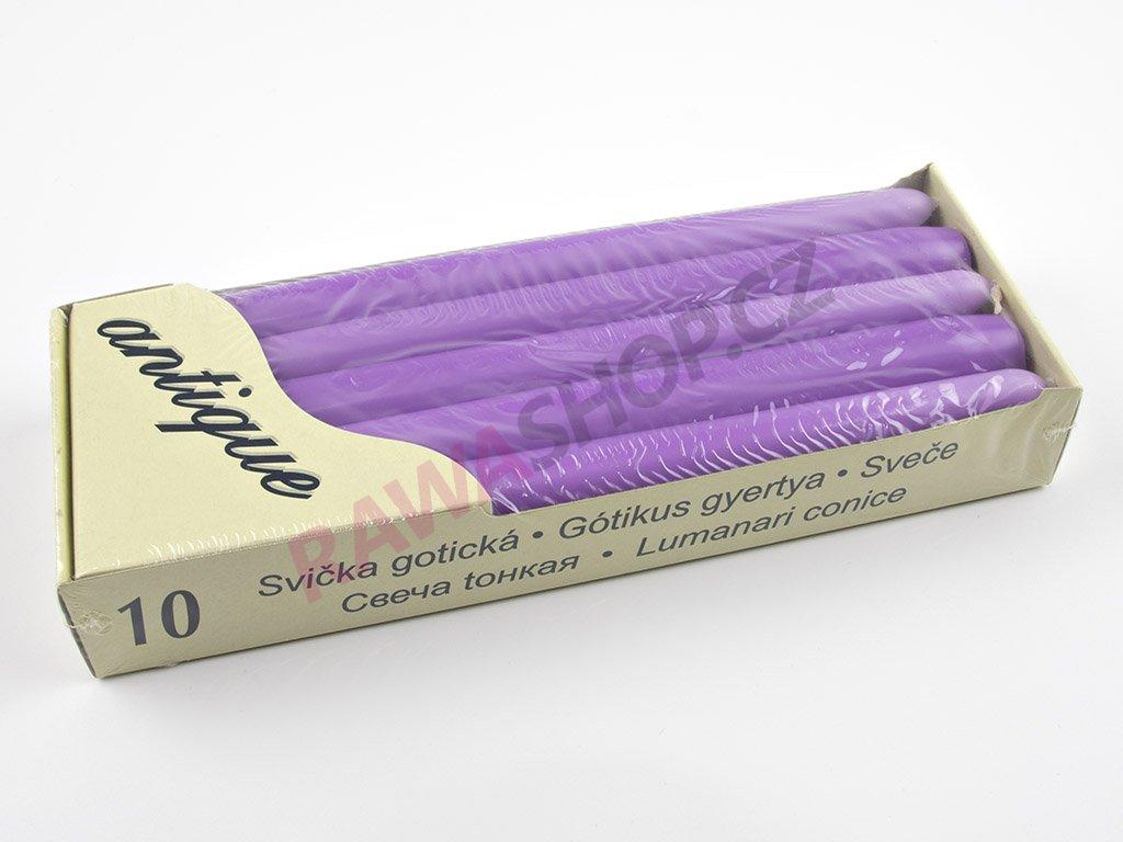 Kónické svíčky 10ks - lilie