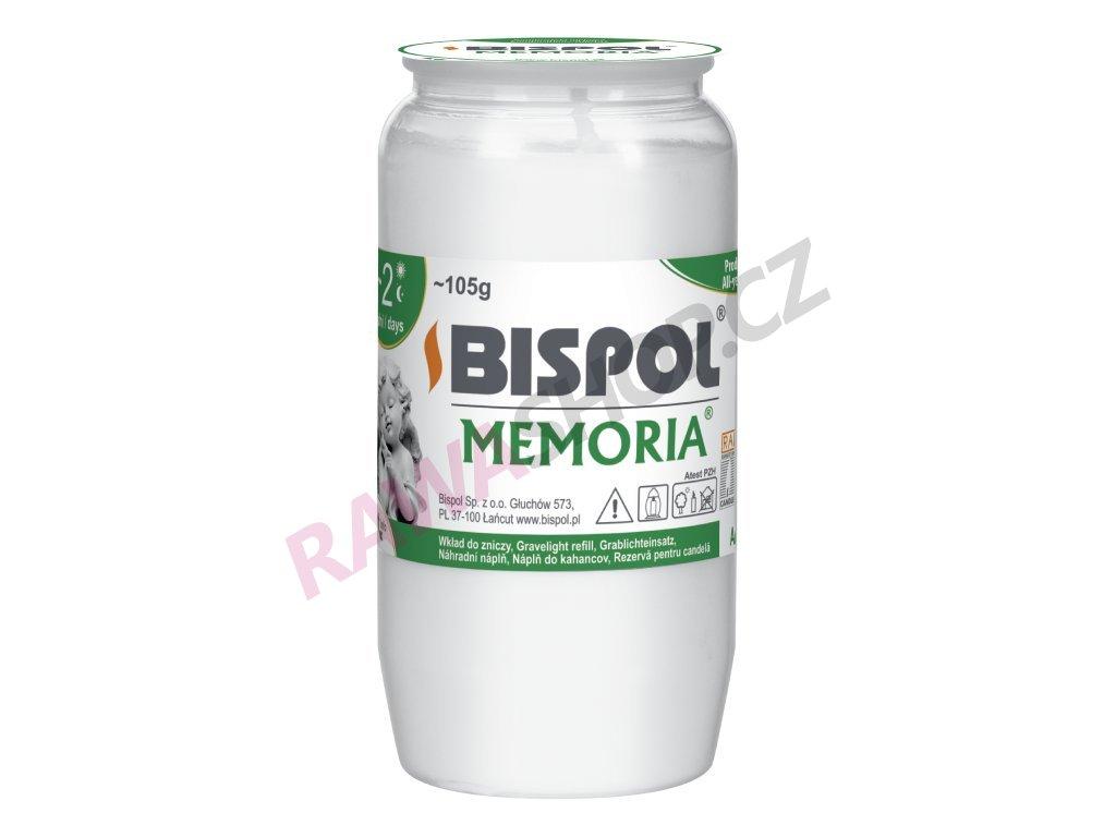 Olejová náplň Memoria 2 - 30ks bílá