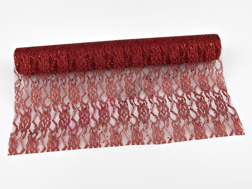 Organza 48cm - červená 4
