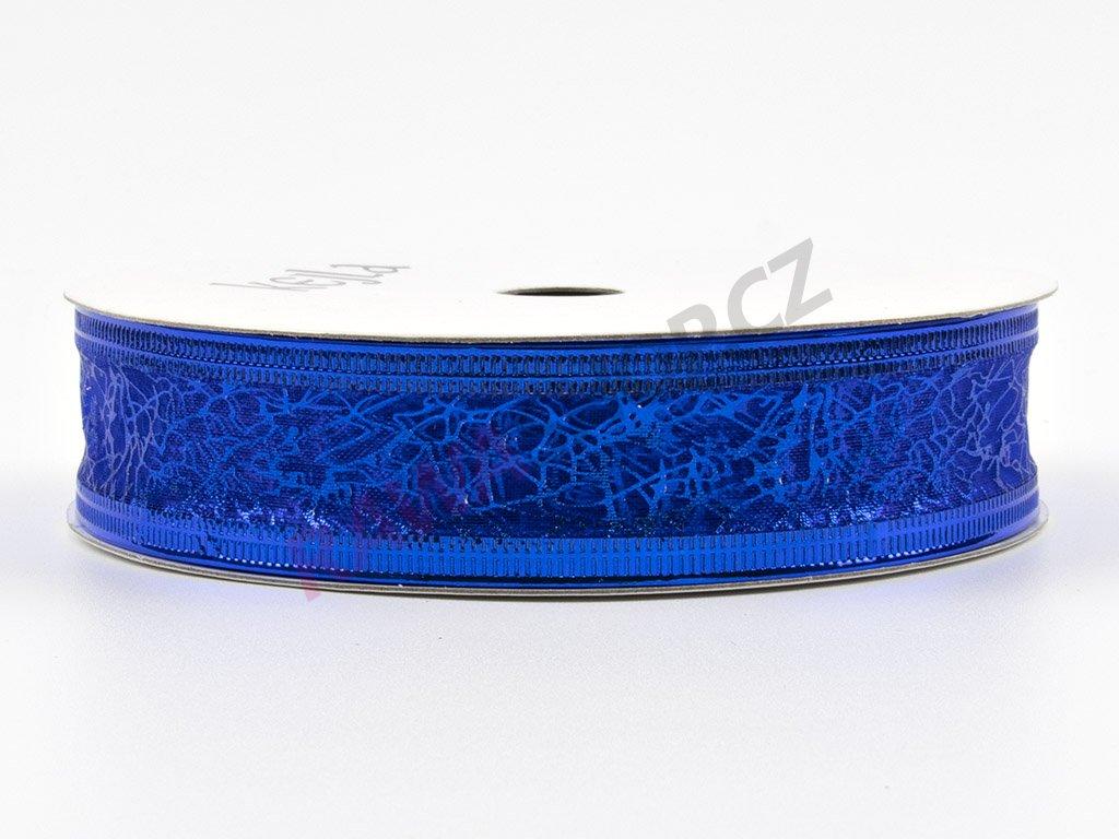 Organzová stuha 2cm - modrá