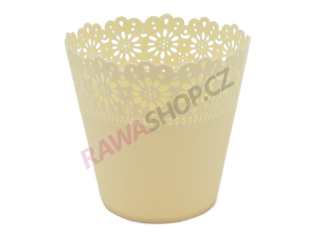 Plastový obal Corona Primulka - ecru