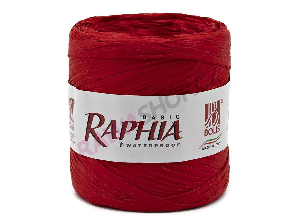 Lýko Raphia - červená
