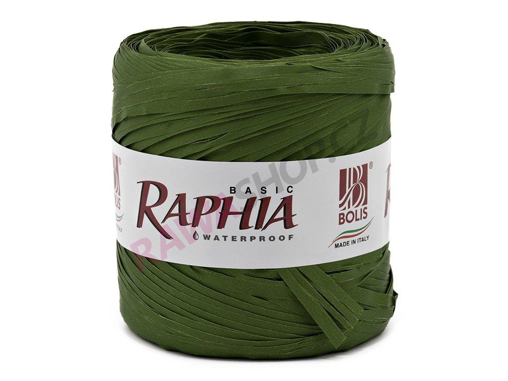 Lýko Raphia - tmavě zelená
