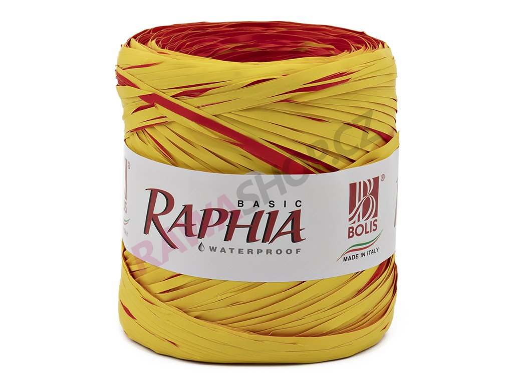 Lýko Raphia - žluto-červená