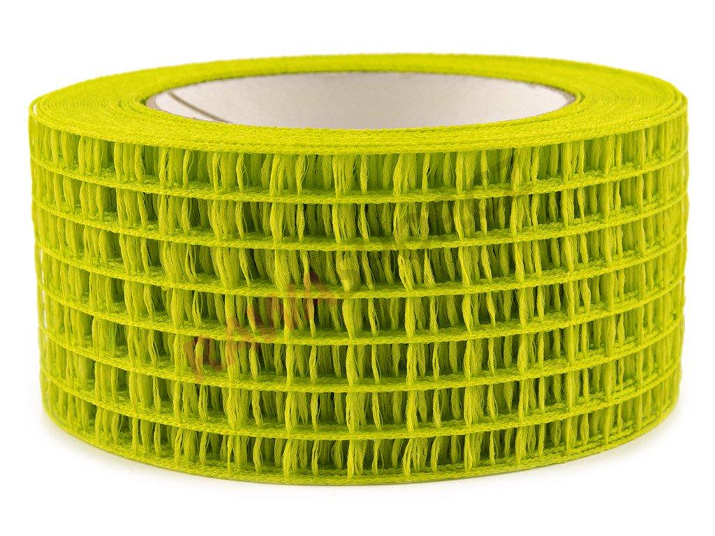 Děrovaná stuha 5cm - zelená