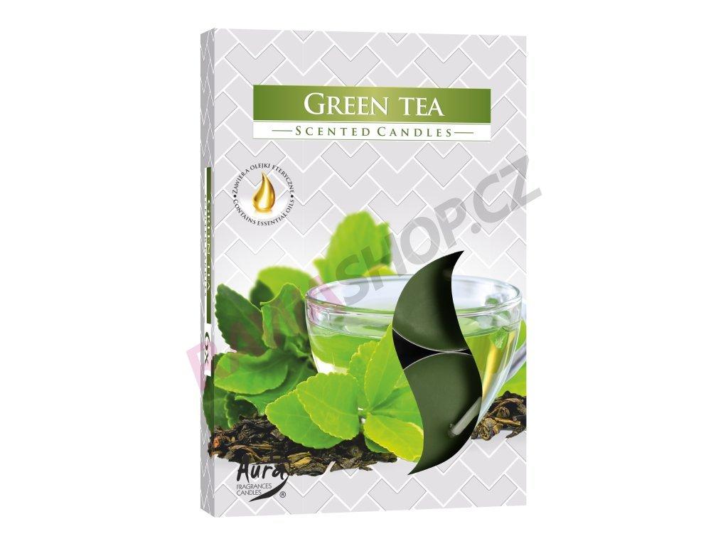 29. Čajové svíčky 6 ks zelený čaj