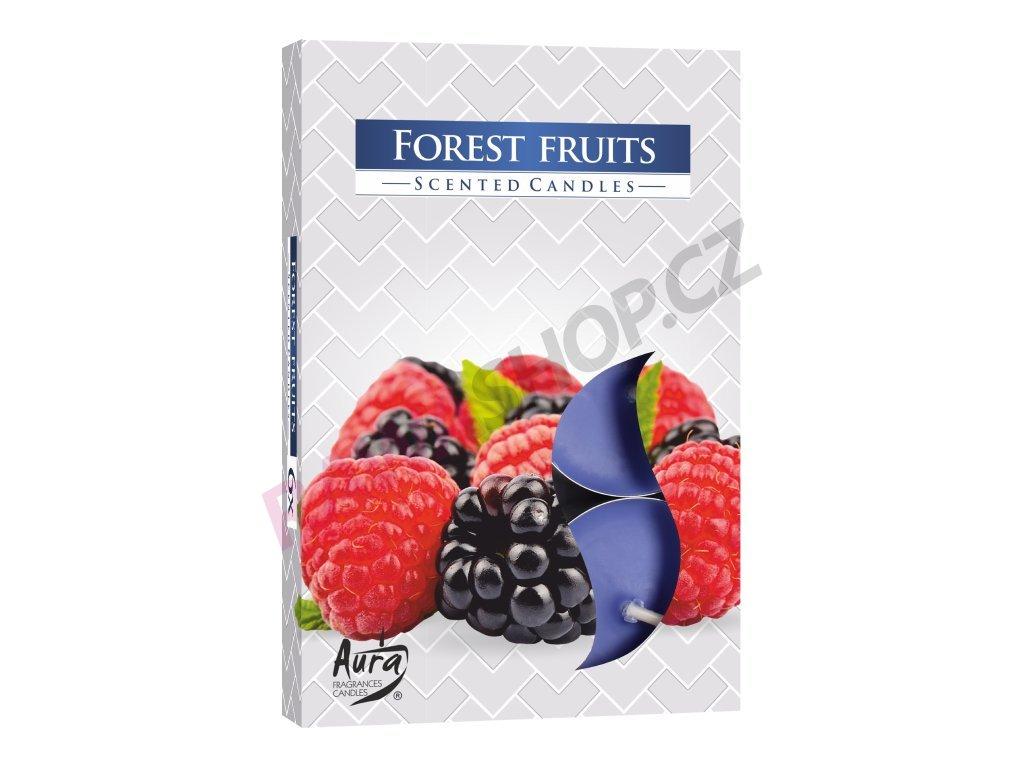 5. Čajové svíčky 6 ks Forest fruits
