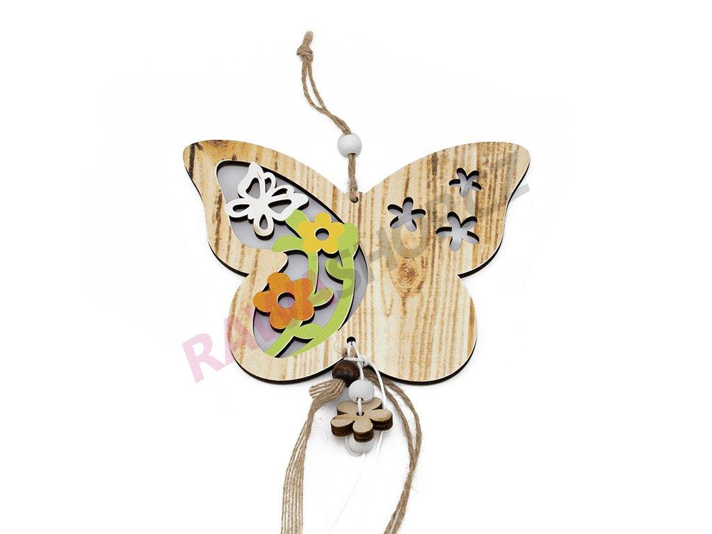 Závěs motýl s motýlkem