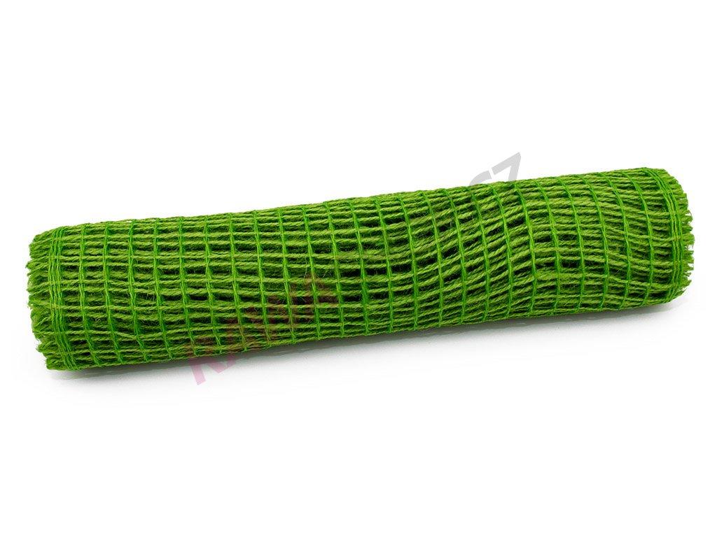 Juta rybářská síť - zelená