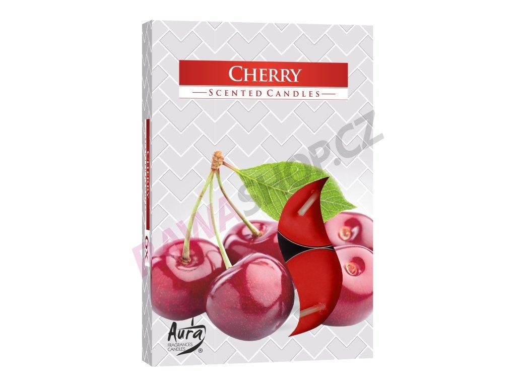 7. Čajové svíčky 6 ks Cherry