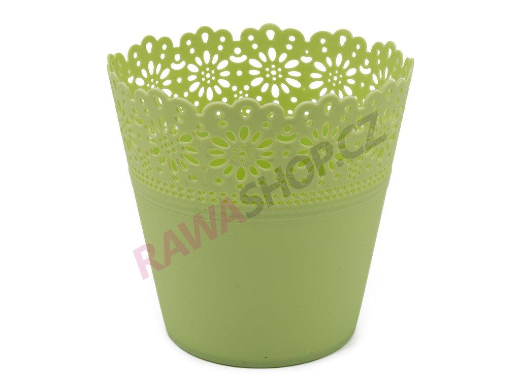 Plastový obal Corona Primulka - zelená pastel