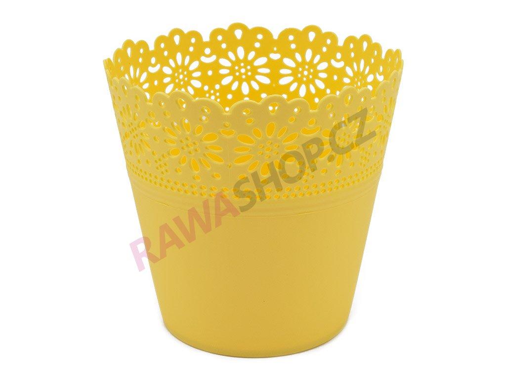 Plastový obal Corona Primulka - žlutá pastel