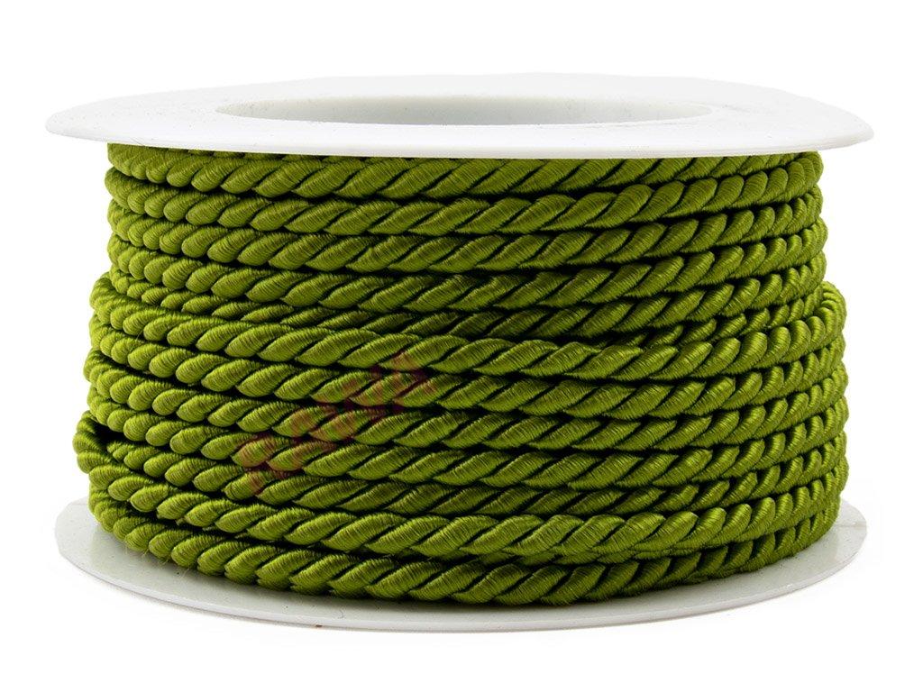 Provázek 3,2mm - olivová