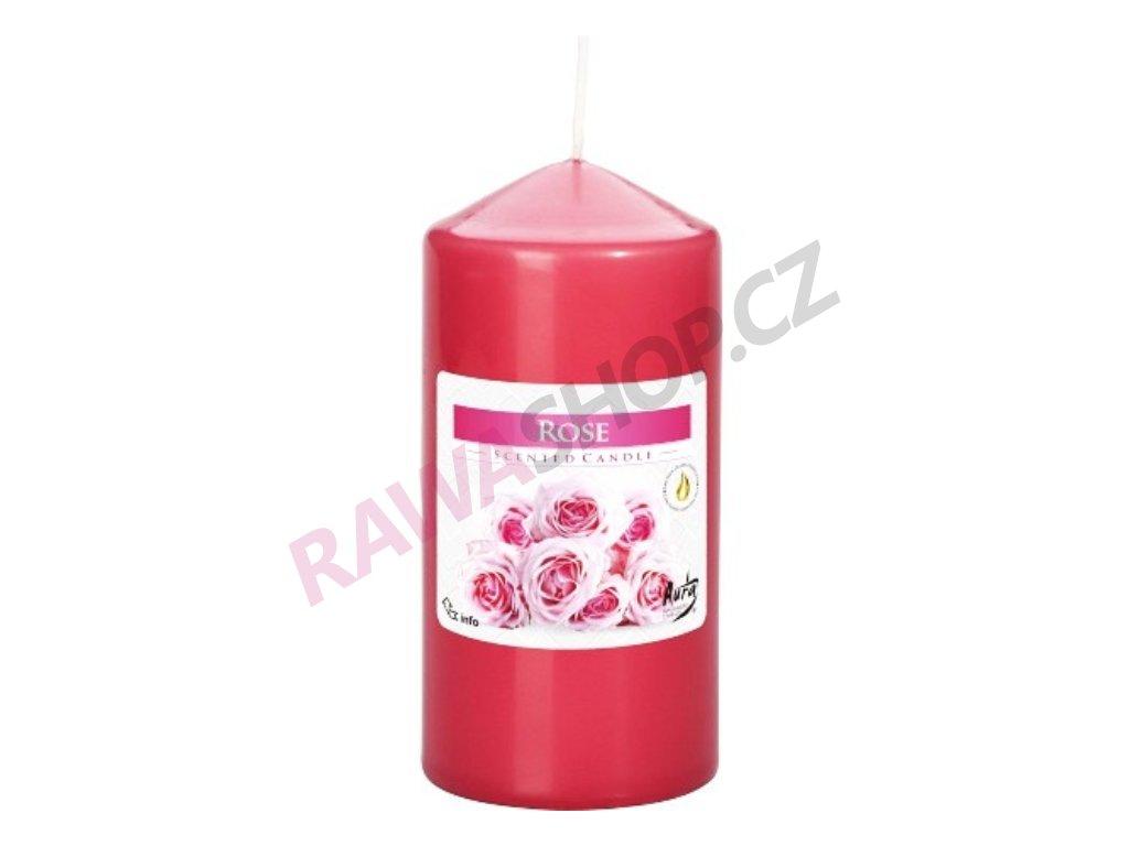 31. Svíčka válec 60 120 růže BSWZ60120 78