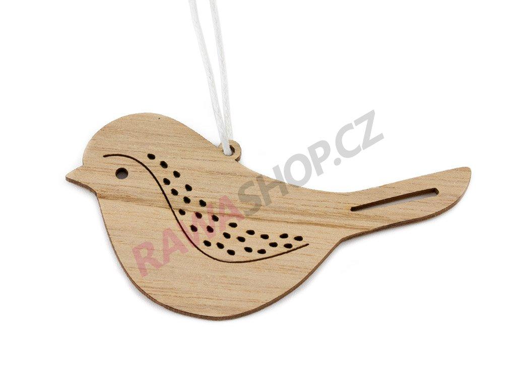 Ptáček natur 6ks