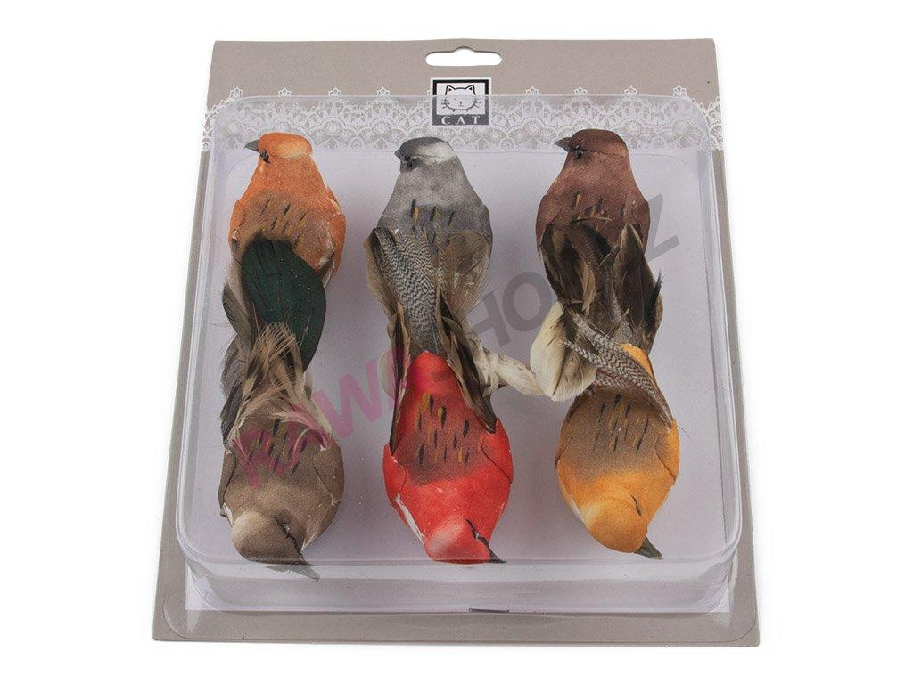 Ptáčci 6ks