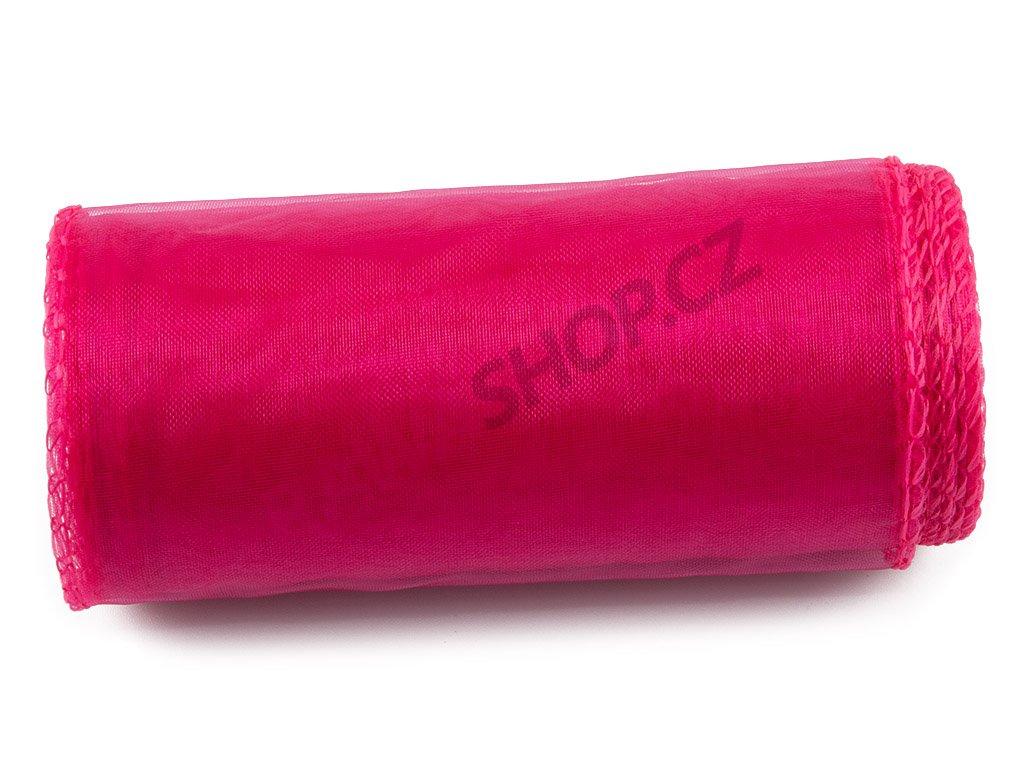 Organza 12 cm - pink 2