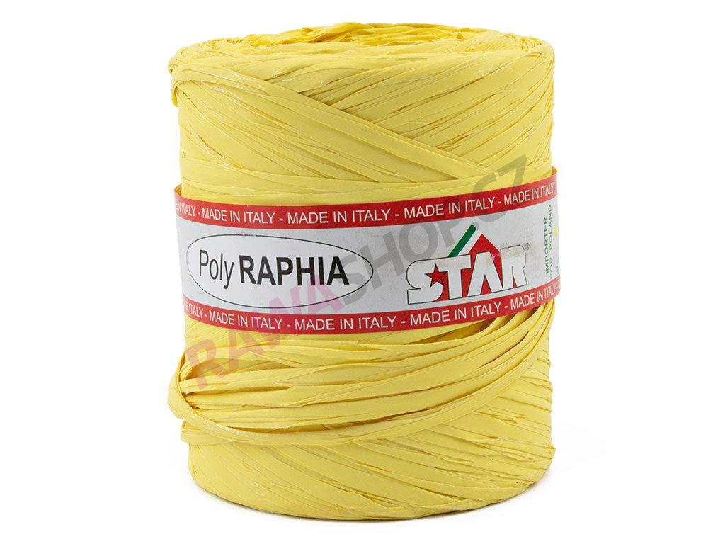 Lýko Poly Raphia - sv. žlutá