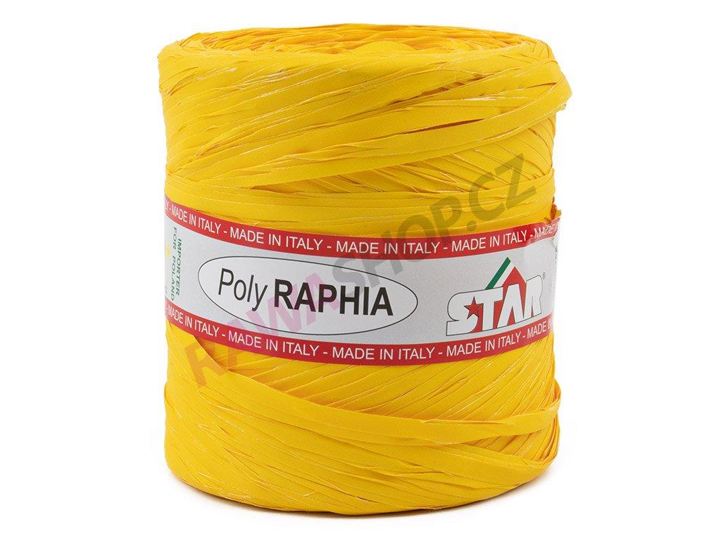 Lýko Poly Raphia - tm. žlutá