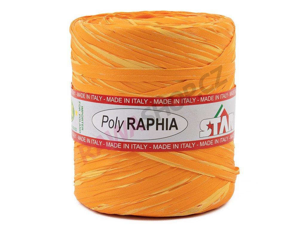 Lýko Poly Raphia - oranžovo-žlutá