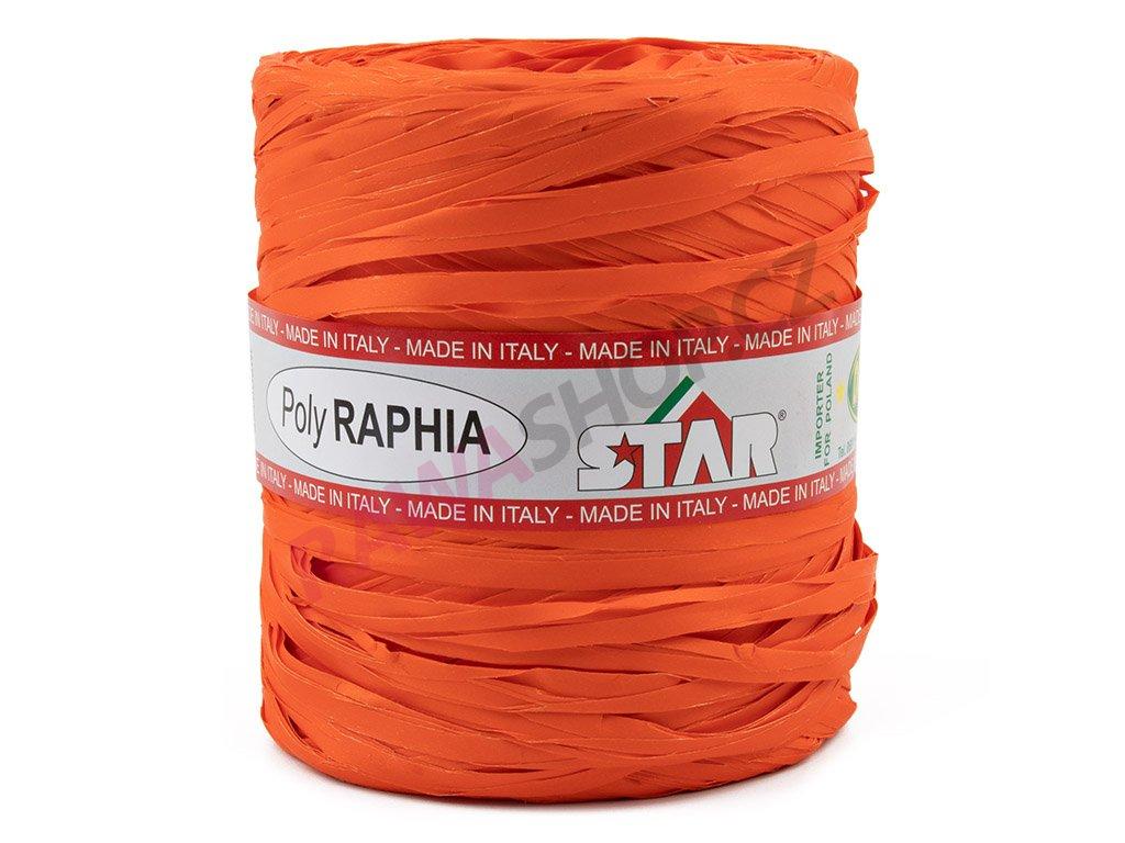 Lýko Poly Raphia - oranžová
