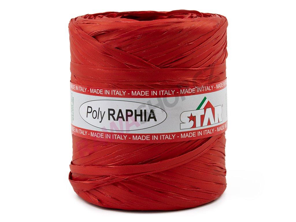 Lýko Poly Raphia - červená