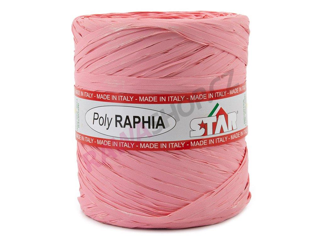 Lýko Poly Raphia - růžová 1