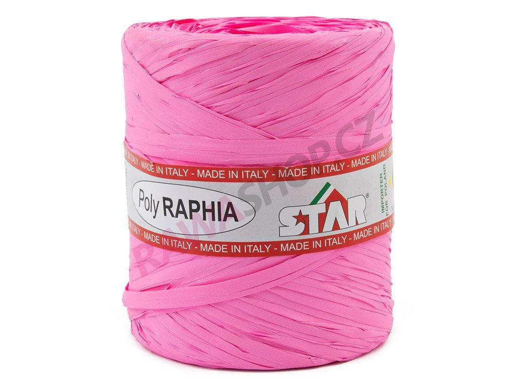 Lýko Poly Raphia - růžová 2