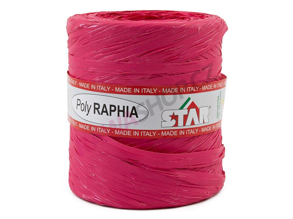 Lýko Poly Raphia - tm. růžová 2