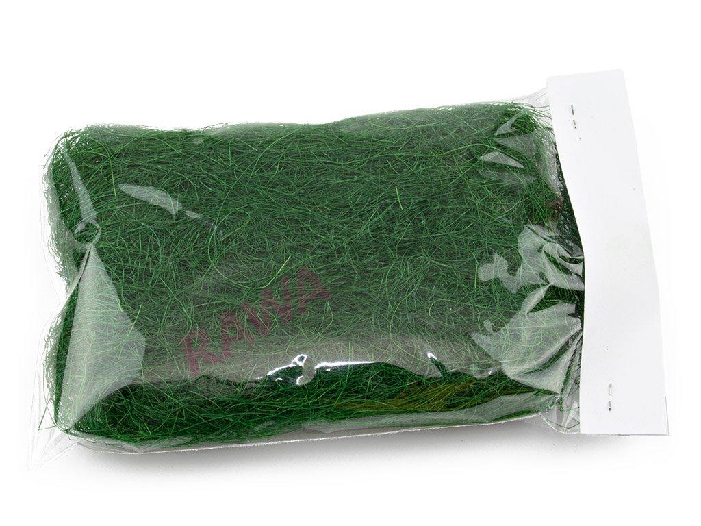 Sisal 20g - tmavě zelený