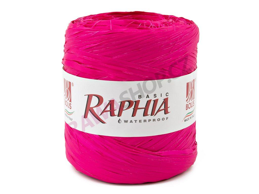 Lýko Raphia - tmavě růžová