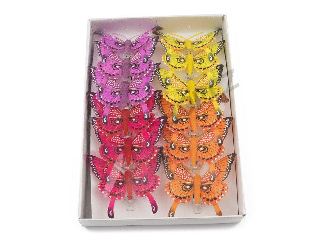 Motýlci 12ks - Paví očko