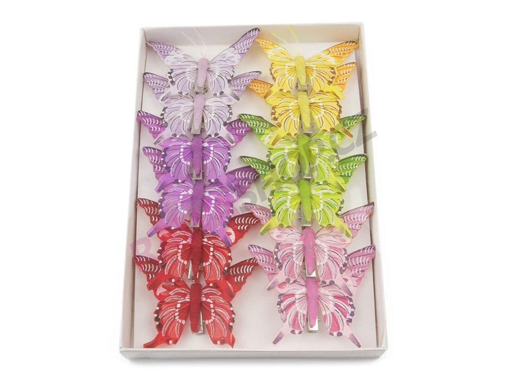 Motýlci 12ks - Otakárek