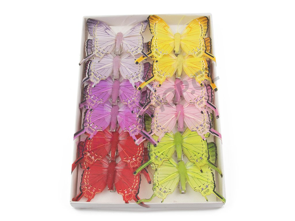 Motýlci 12ks - Černopásek