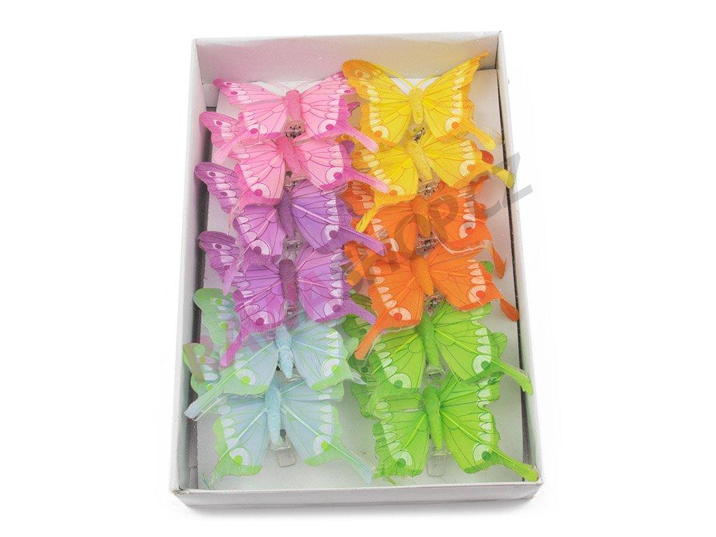 Motýlci 12ks - mix