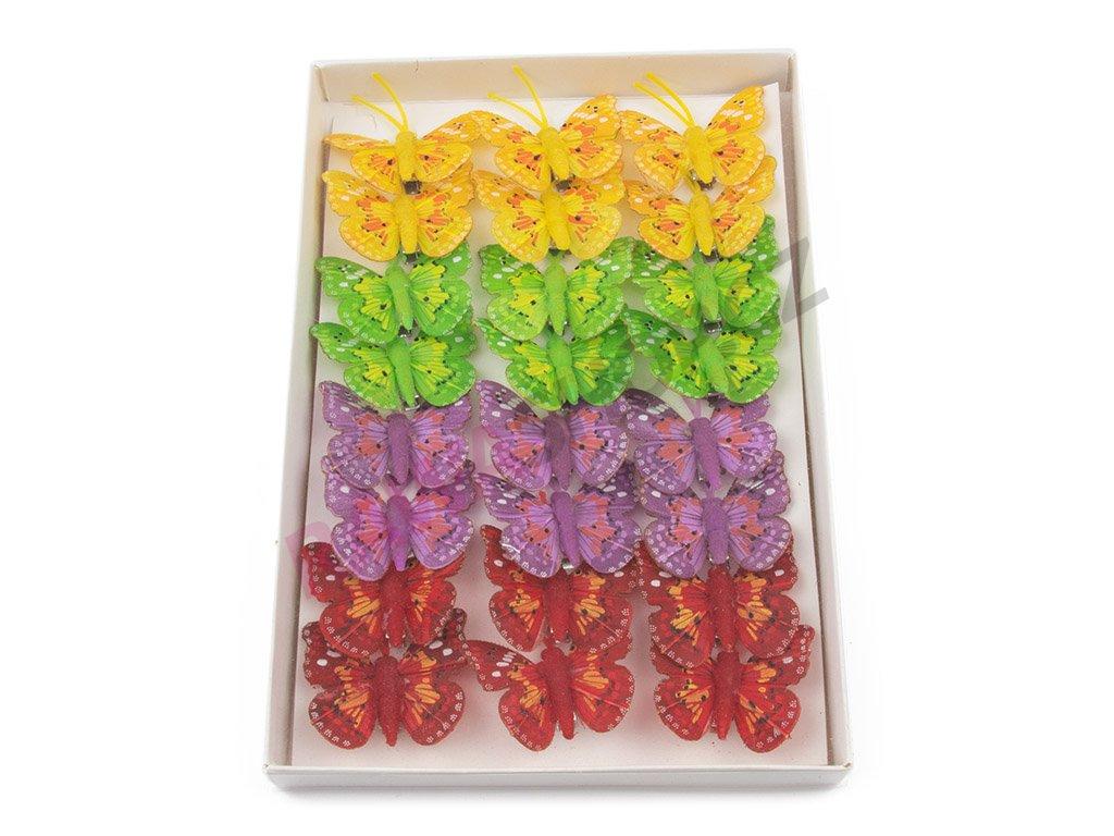 Motýlci 24ks - Tečkovaný