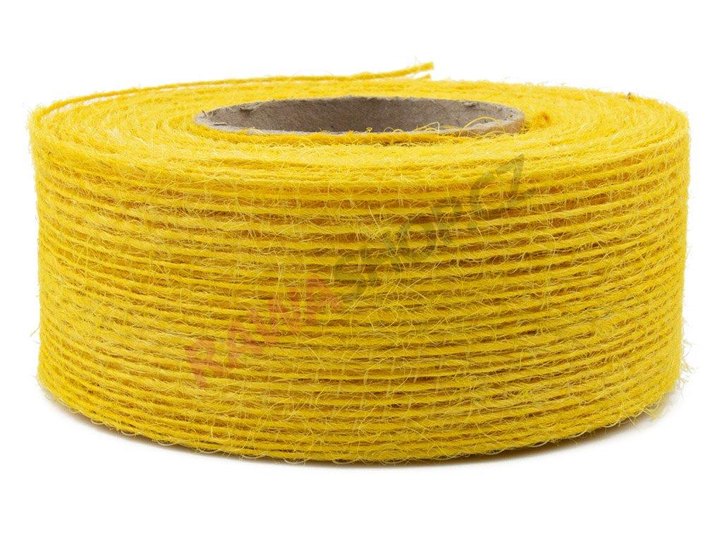 Juta jemná 4cm - žlutá