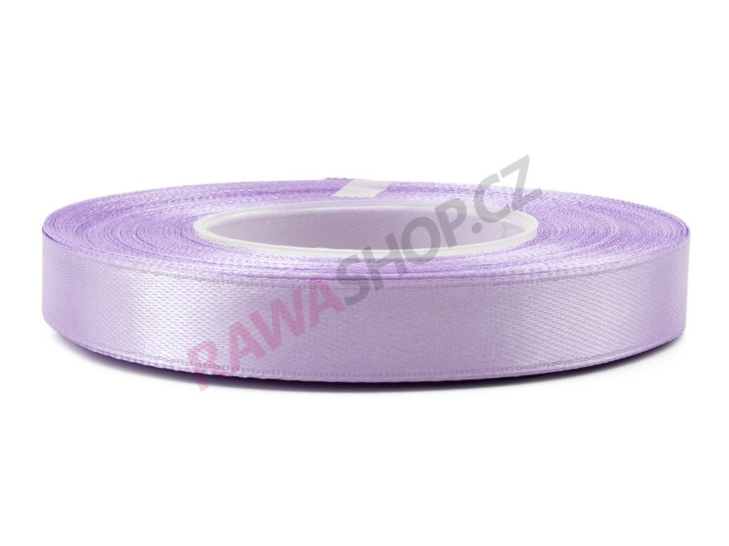 Saténová stuha 1,2cm - lavenda