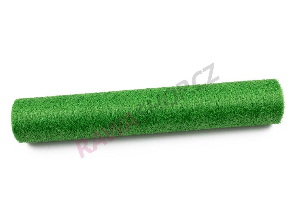 Spider organza 36 cm - green