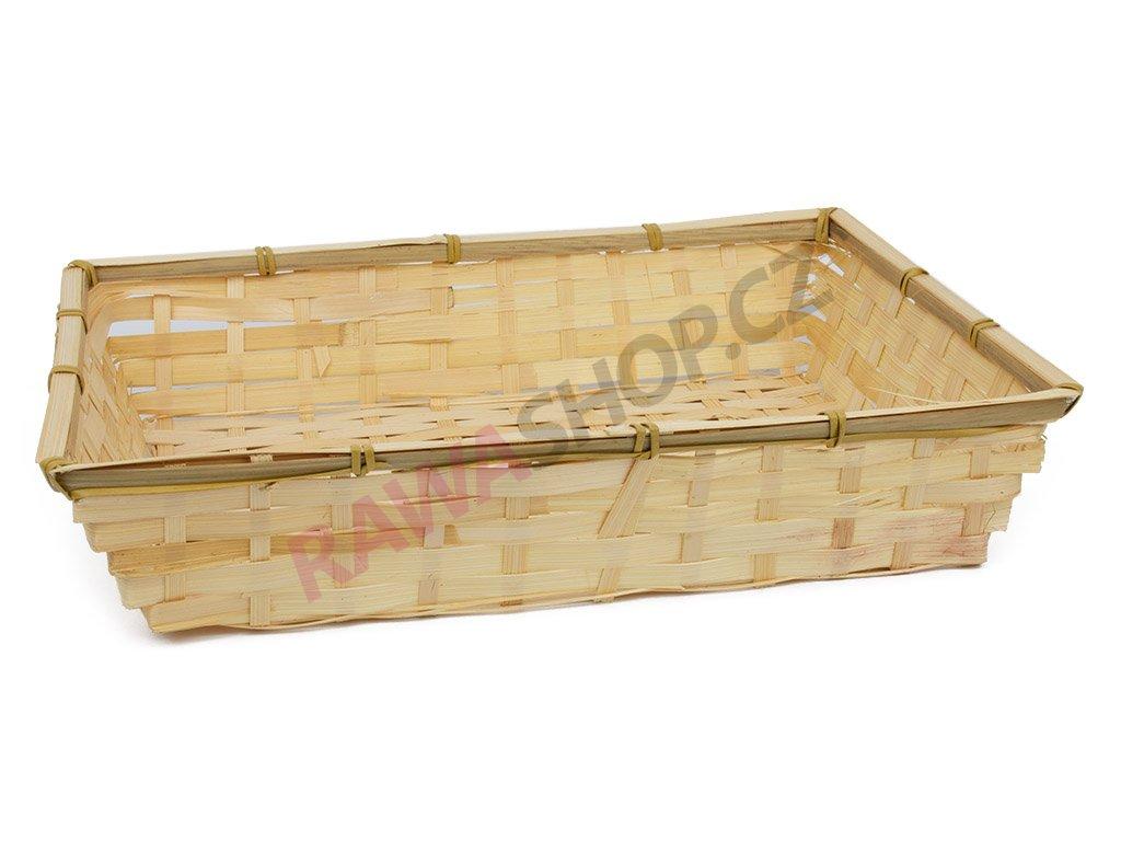 Bambusová miska 37x25