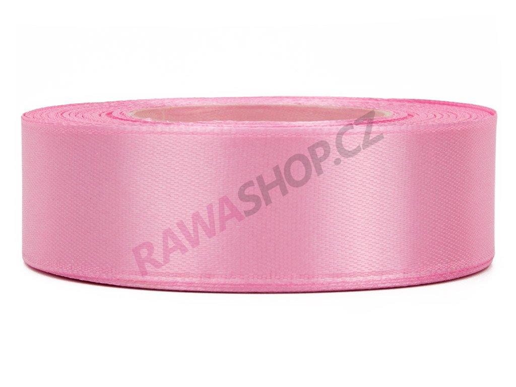 Saténová stuha 2,5cm - dark pink