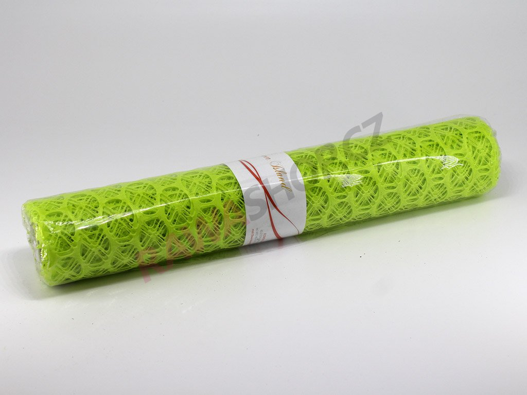 Lemon mesh 50cm - apple green